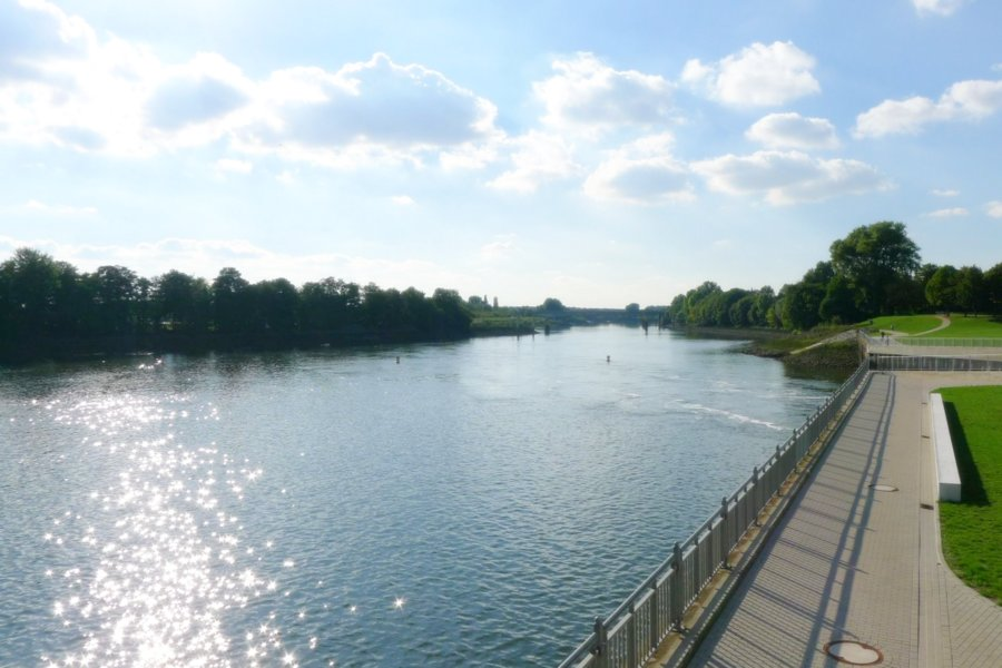 """De Weser """"geiht"""" in de zomer altijd in Bremen"""