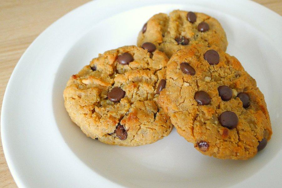 Chocolade pindakaas koekjes