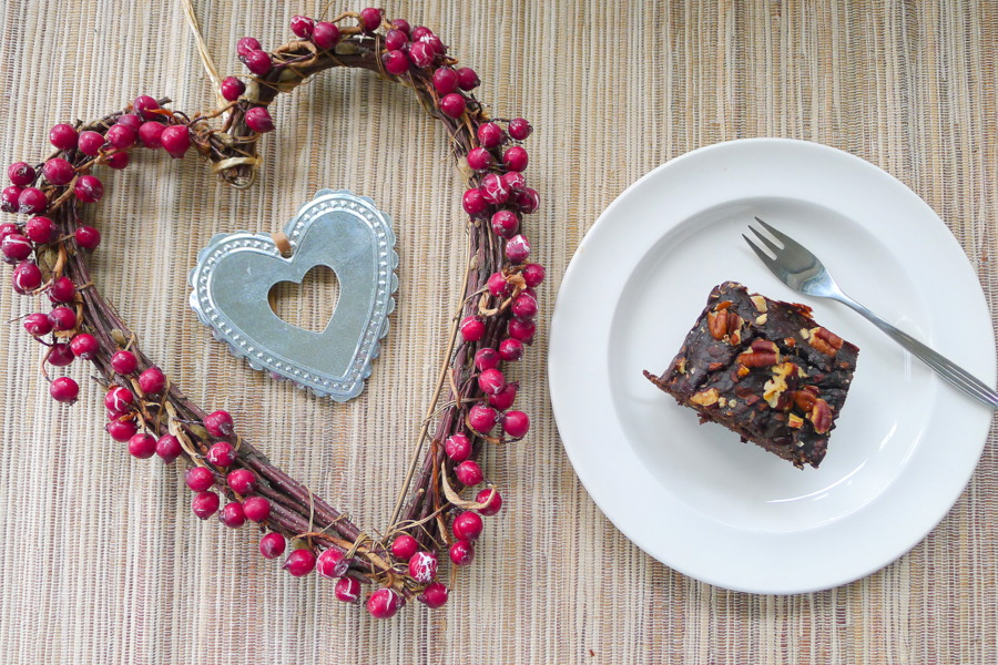 low carb brownies van zwarte bonen