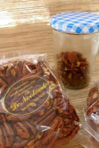 pecan noten in een zakje van winkel de nootzaak in haarlem