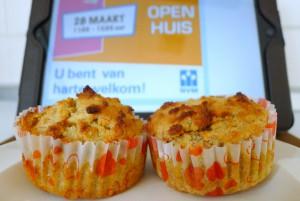 koolhydraatarme appel muffins volgens de broodbuik methode