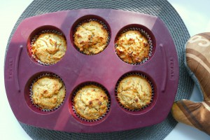 appel muffins in de bakvorm