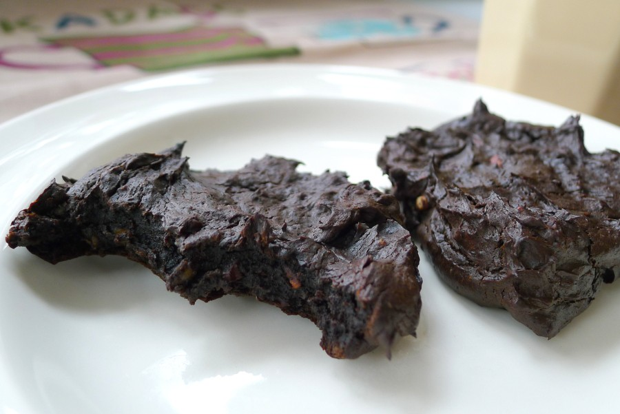 chocolade avocado koekjes