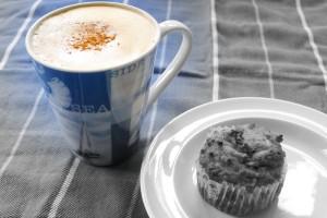 koffie soja muffin