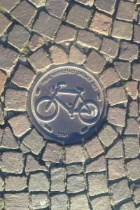 Fietspad, Bremen Domshof