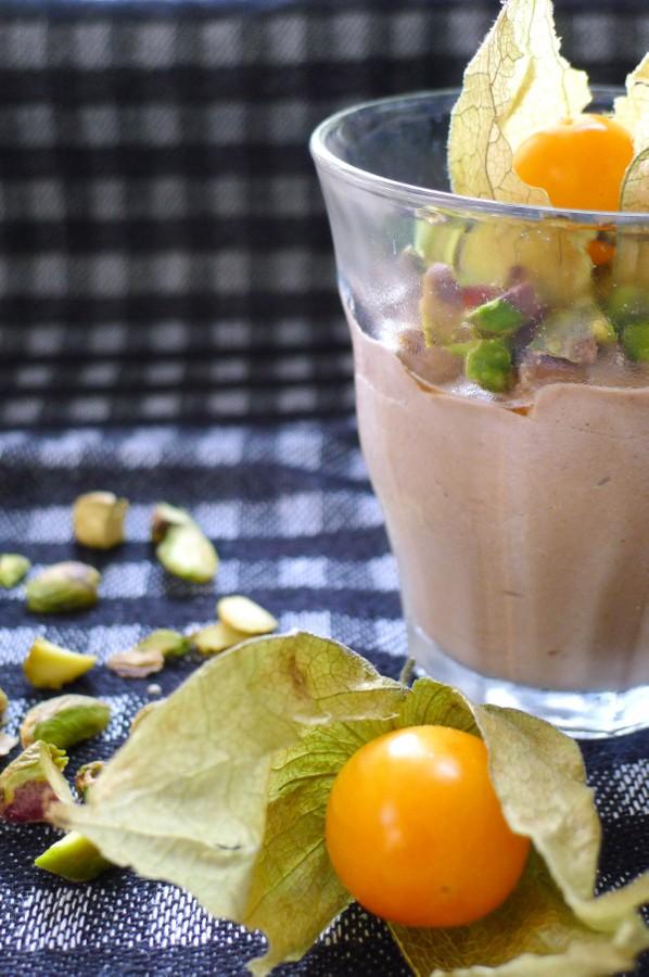 Chocolademousse van avocado, koolhydraatarm