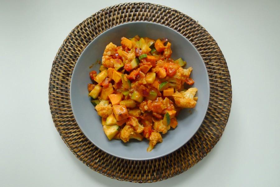 berbere groenteschotel