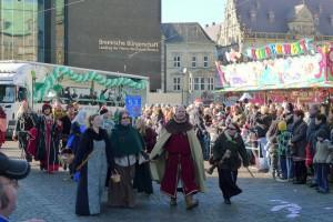 Bremen Umzug Freimarkt