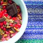 Koolhydraatarme bietjespap met chocolade recept ~ minder koolhydraten, maximale smaak ~ www.con-serveert.nl