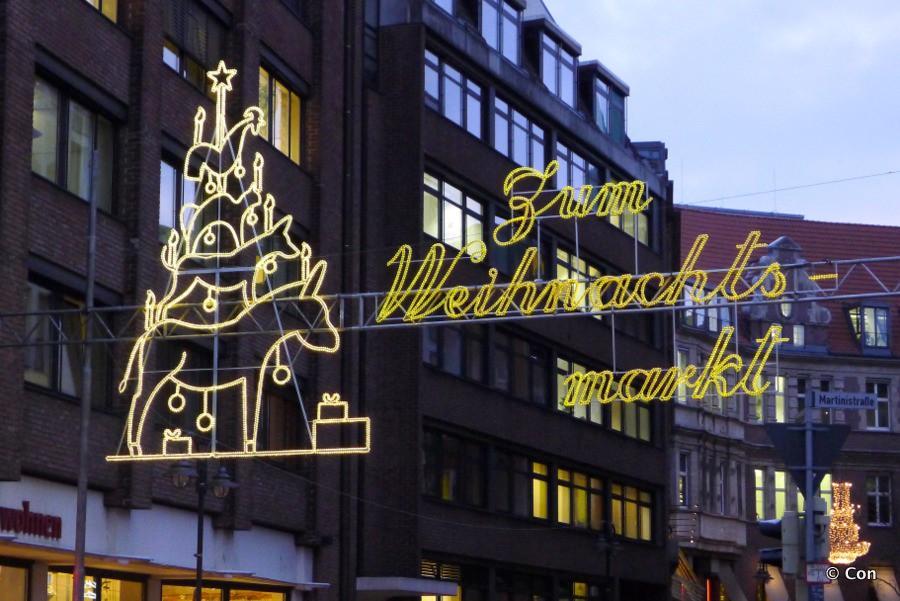 Bremen Kerstmarkt wegwijzer