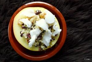 braadappels vegan walnoten chocolade
