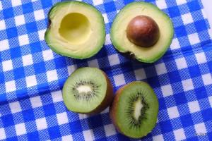 avocado kiwi