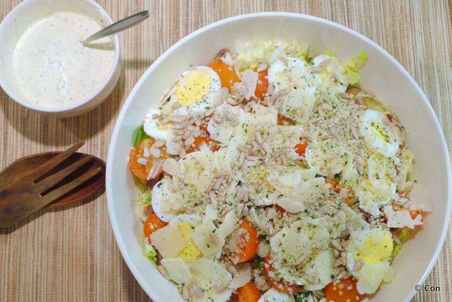 Keizersalade (Ceasar salad)