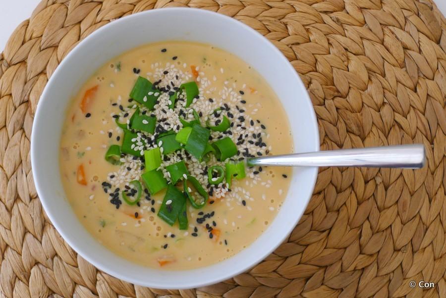 pinda kokos soep