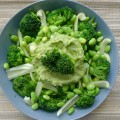groene groente schotel
