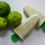 Limoen kokosijs met matcha