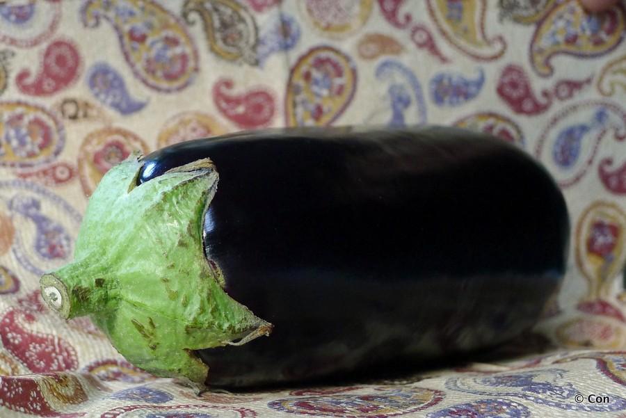 aubergine croutons koolhydraatarm