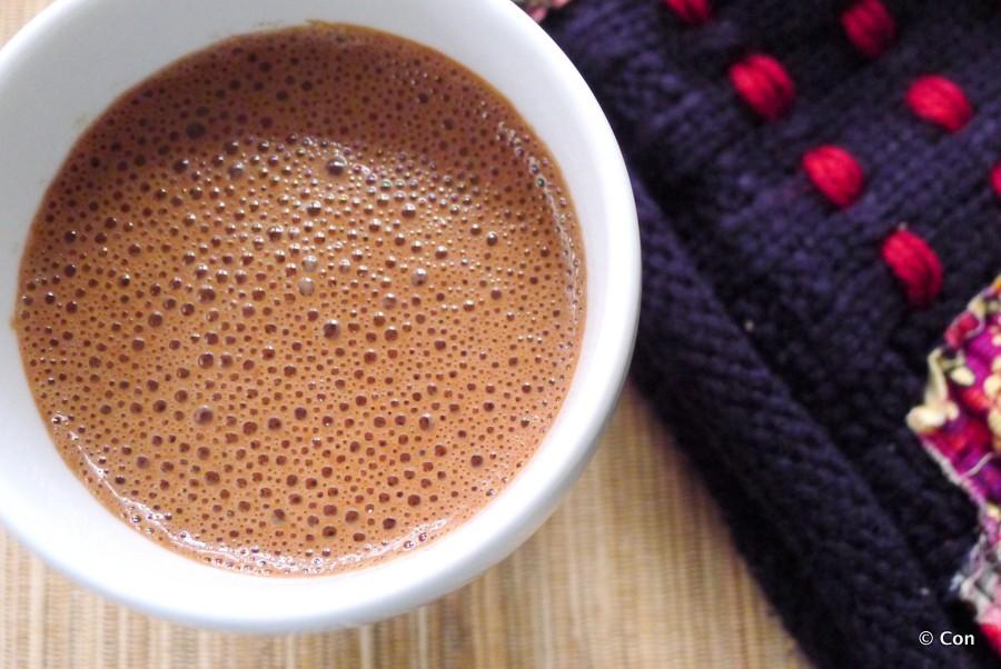 warme chocolademelk lactosevrij koolhydraatarm