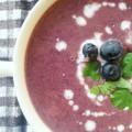 rode kool soep