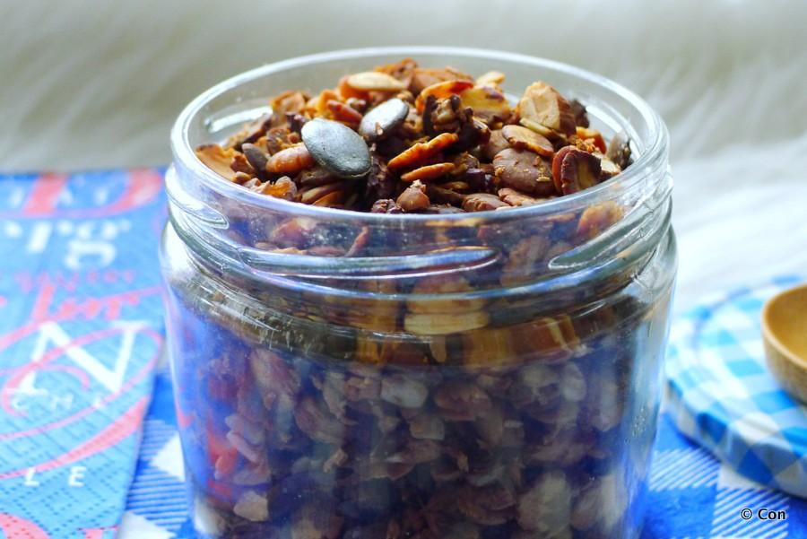 granola cruesli koolhydraatarm vetvrij