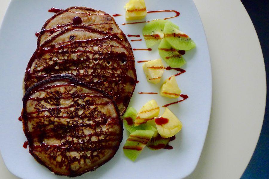 Boekweit pannenkoekjes met banaan