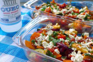 grieks tourlou groente ouzo feta