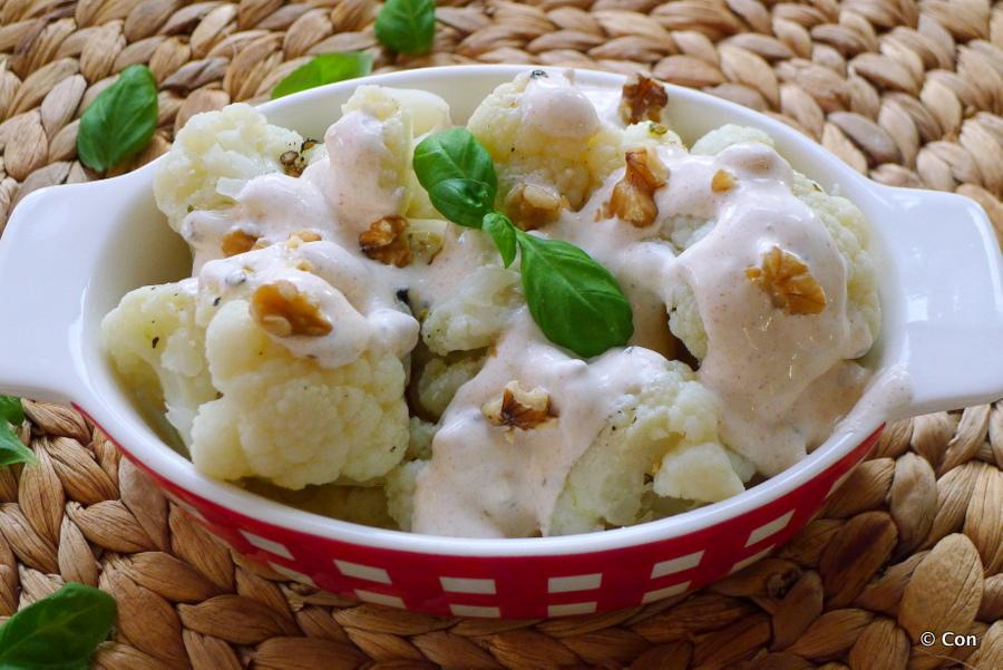 Turkse bloemkoolsalade – Karnibahar salatasi