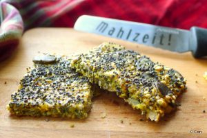 low carb crackers maanzaad