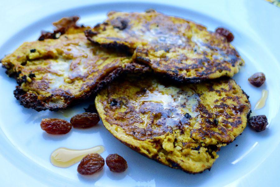 Arepa di pampuna – Caribische pompoen pannenkoek