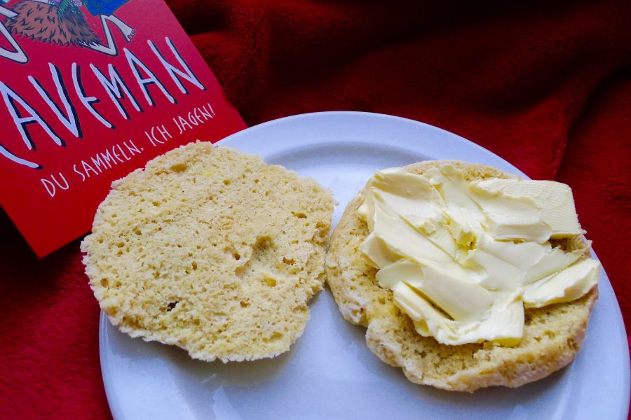 Koolhydraatarm broodje van amandelmeel