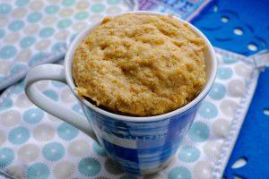 Pompoen mugcake
