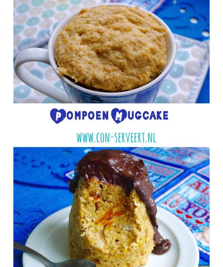Zin om een keertje met taart te ontbijten, maar wel koolhydraatarm natuurlijk? Deze pompoen mugcake met chocoladesaus is een welkome afwisseling. Bij uitstek geschikt voor een relaxed weekend ontbijt ~ minder koolhydraten, maximale smaak ~ www.con-serveert.nl