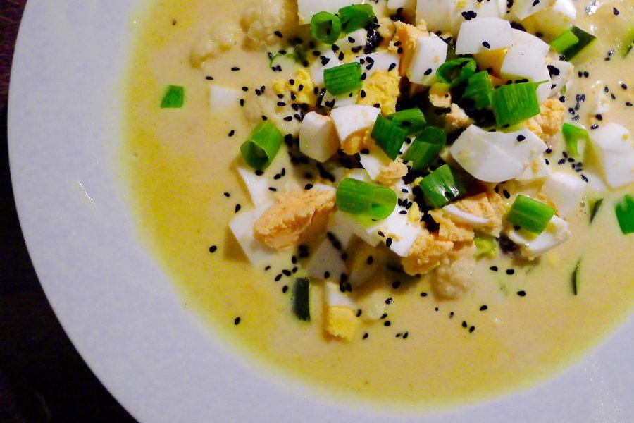 Thaise curry soep