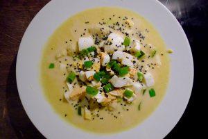 Vegetarische Thaise curry soep