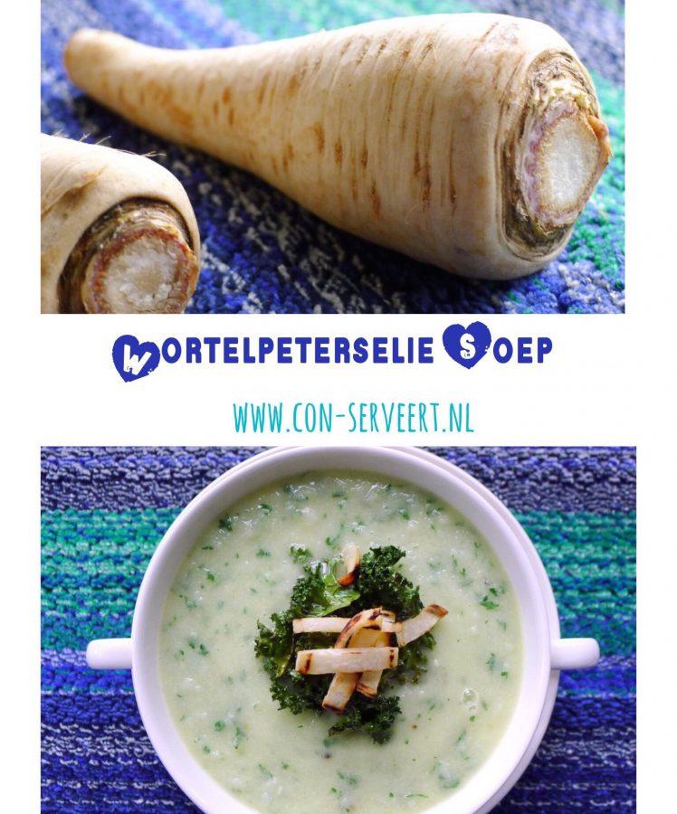 Er is een nieuwe favoriet in de koolhydraatarme keuken gearriveerd. Of beter gezegd is het een hele oude bekende: de wortelpeterselie. Maak nu kennis met deze groente in een winterse soep ~ www.con-serveert.nl