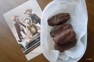 Chocolade kokosrepen recept, glutenvrij en lactosevrij ~ minder koolhydraten, maximale smaak ~ www.con-serveert.nl