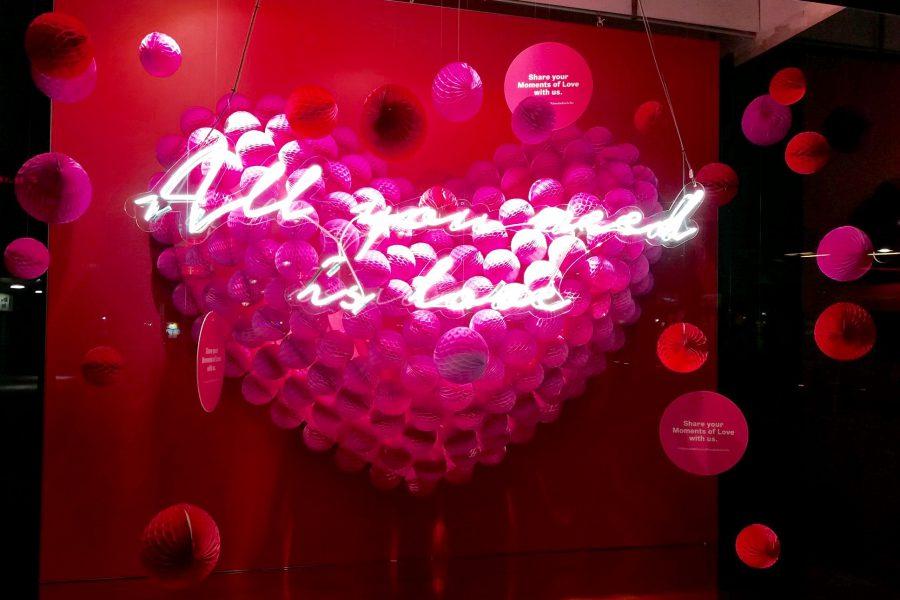 Valentijns-etalage KaDeWe