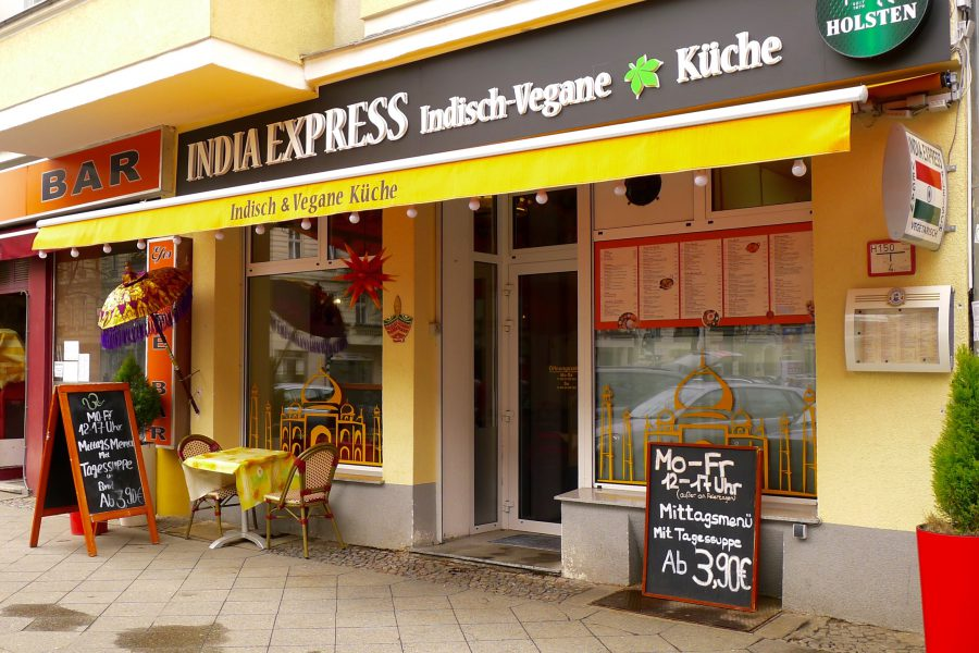 Indiaas restaurant India Express in Berlin Charlottenburg