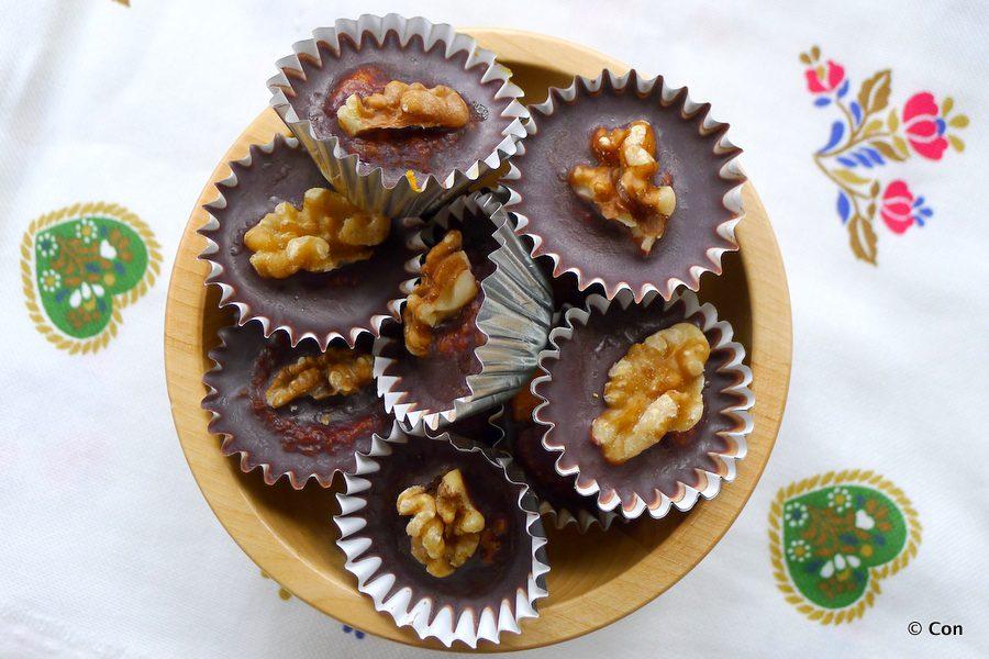 Worteltaart bonbons recept ~ minder koolhydraten, maximale smaak ~ www.con-serveert.nl