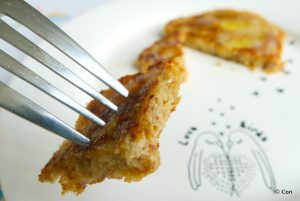 Zuivelvrije pannenkoekjes recept ~ minder koolhydraten, maximale smaak ~ www.con-serveert.nl