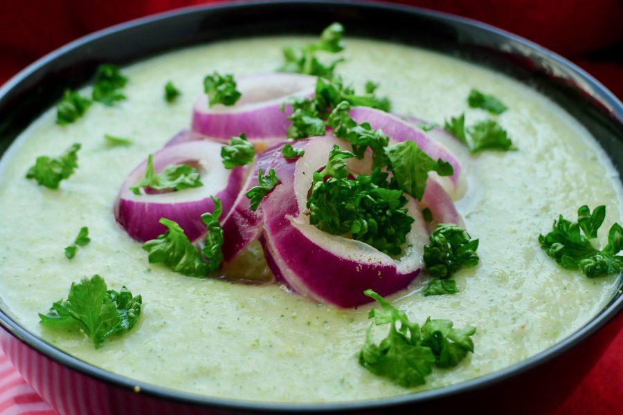 Bloemkool broccoli soep recept ~ minder koolhydraten, maximale smaak ~ www.con-serveert.nl