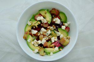 Rabarber bieten salade recept ~ minder koolhydraten, maximale smaak ~ www.con-serveert.nl