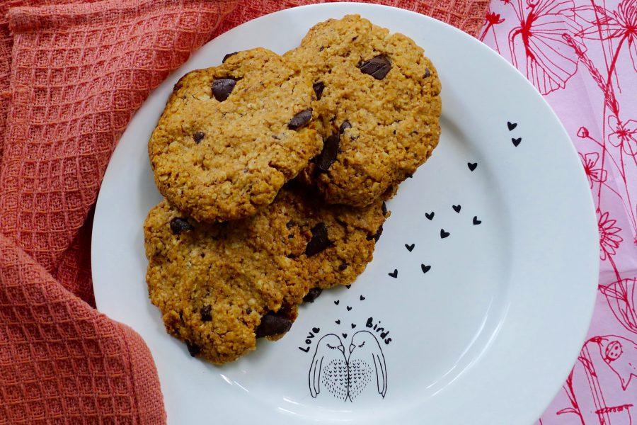 Amandel havermout koekjes