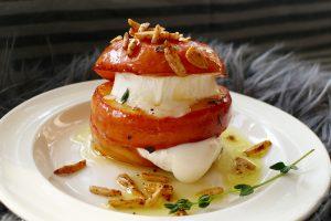 Appelburger met geitenkaas recept ~ minder koolhydraten, maximale smaak ~ www.con-serveert.nl