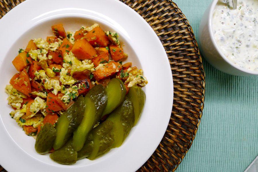 Bauernfrühstück (Boerenontbijt) recept ~ minder koolhydraten, maximale smaak ~ www.con-serveert.nl