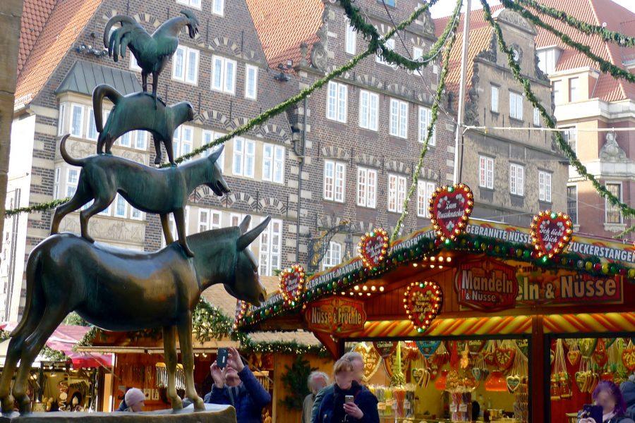 Kerstmarkt in Bremen ~ minder koolhydraten, maximale smaak ~ www.con-serveert.nl