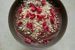 Bloemkoolpap porridge recept ~ minder koolhydraten, maximale smaak ~ www.con-serveert.nl