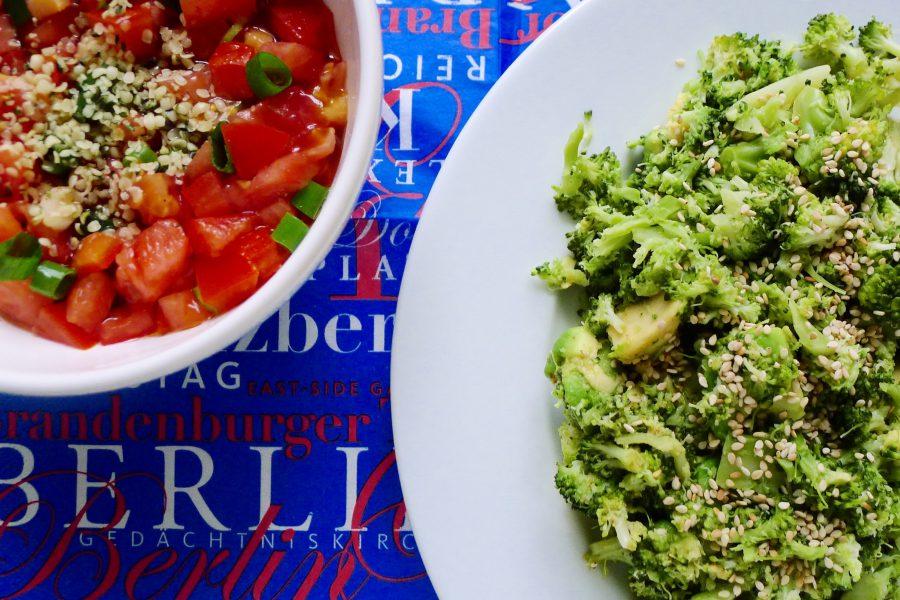 Broccoli avocado stamppotje met tomatensalsa recept ~ minder koolhydraten, maximale smaak ~ www.con-serveert.nl