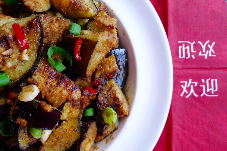 Chinese aubergines