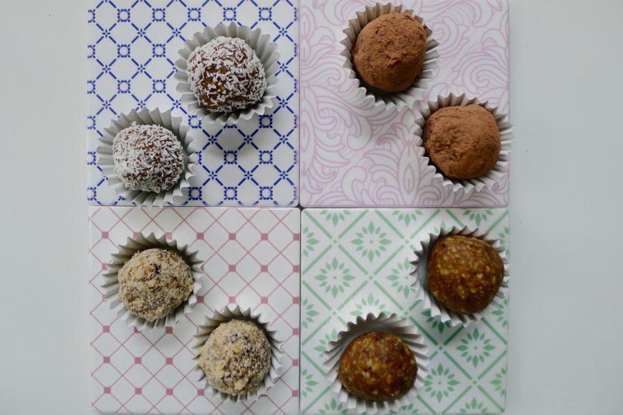 Hazelnoot dadel balletjes recept ~ minder koolhydraten, maximale smaak ~ www.con-serveert.nl